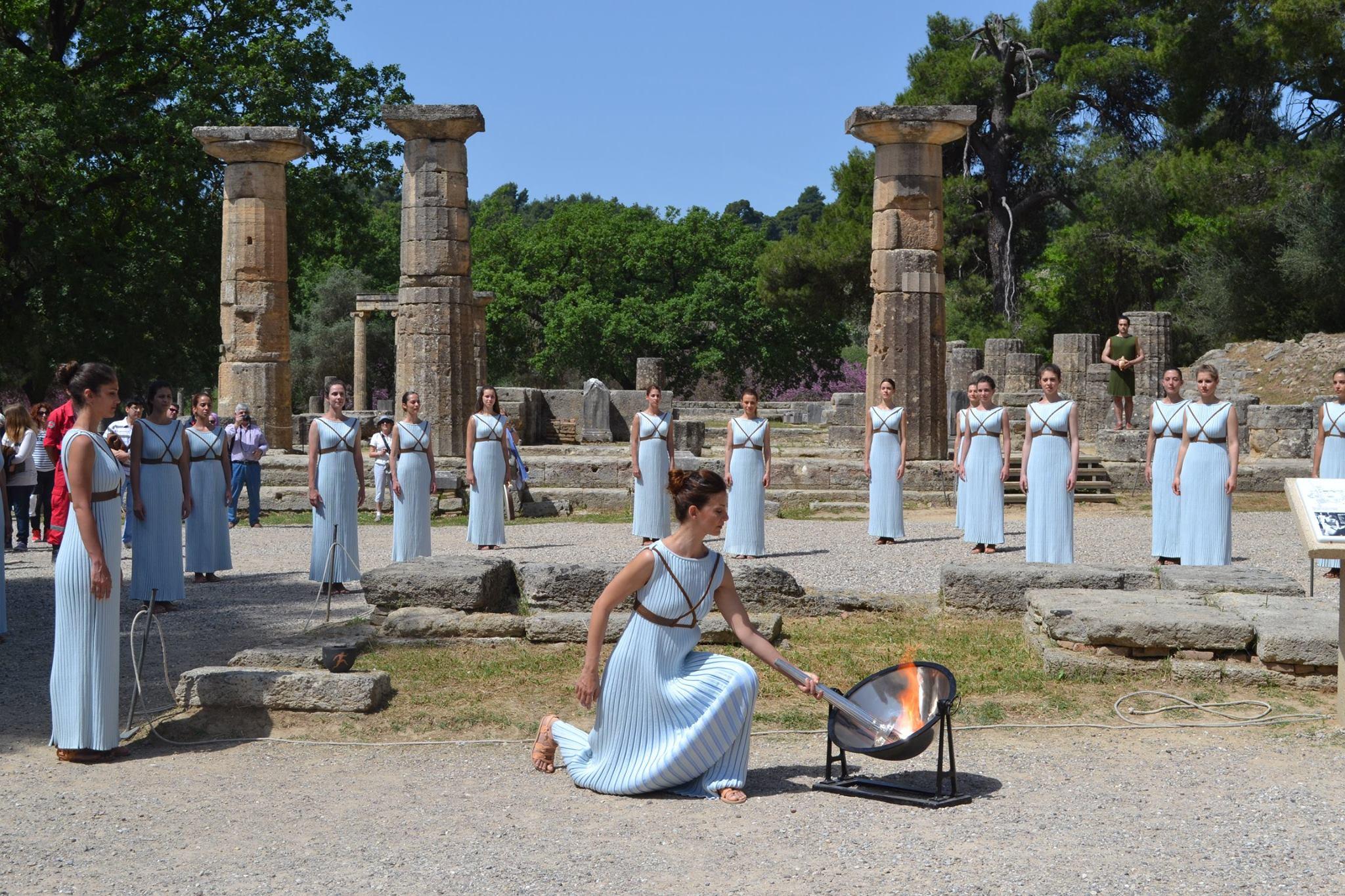 Εκπαιδευτική εκδρομή στην Αρχαία Ολυμπία