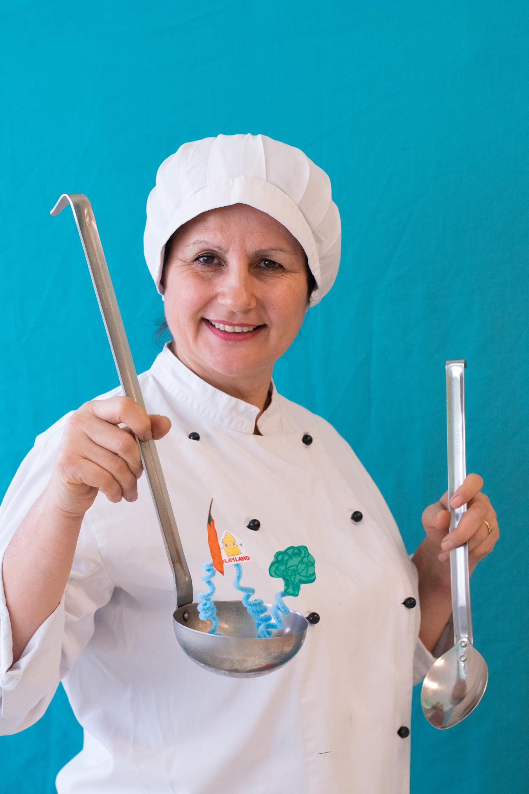 Σοφία Καζας - Μαγείρισσα